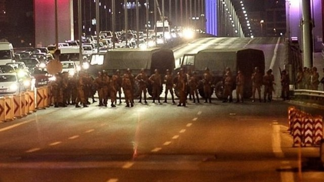 Was US involved in or behind the failed military coup attempt in Turkey