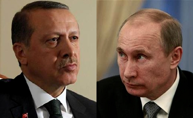 What is the reason for Turkey's President Erdogan's visit to Russia and Putin