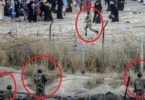 Watch ISIS Terrorists near Turkey's Border Guards